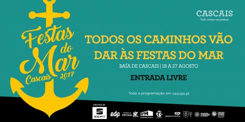 Cartaz Festas do Mar 2017