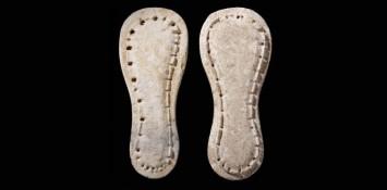 Sandálias pré-históricas
