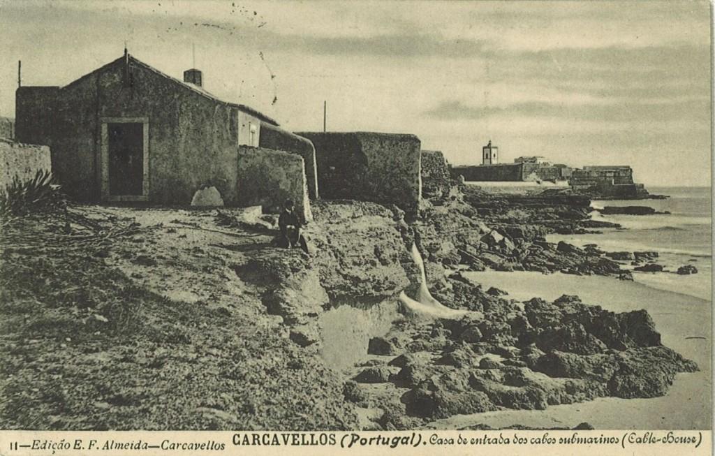 Casa de entrada dos cabos submarinos, Carcavelos